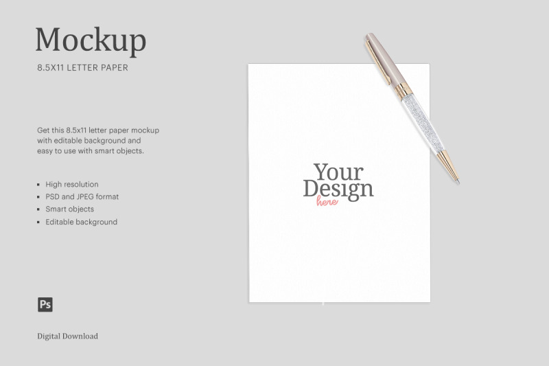Download Paper Logo Mockup Psd Yellowimages