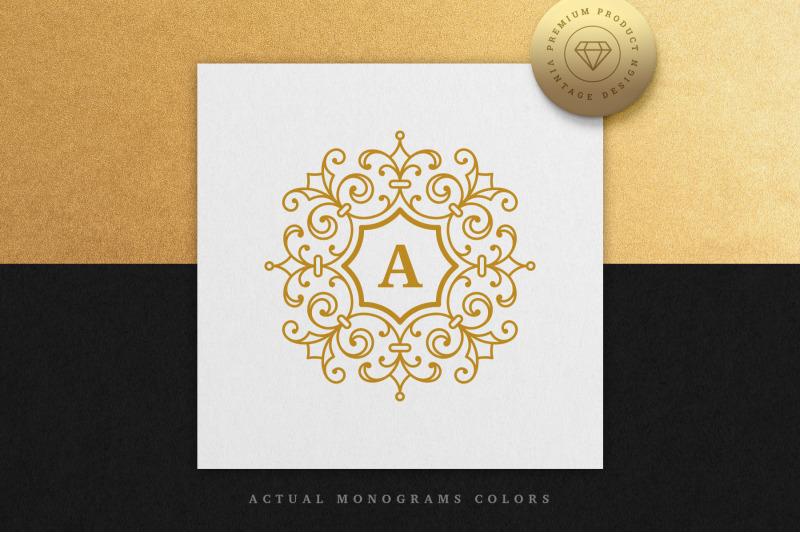 vintage-monogram-alphabet-letters