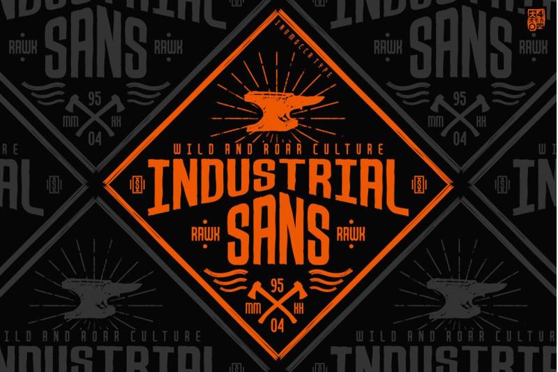 industrial-sans