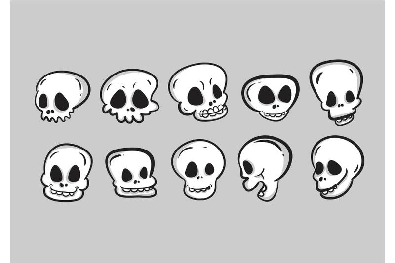 halloween-with-monster-skull-character