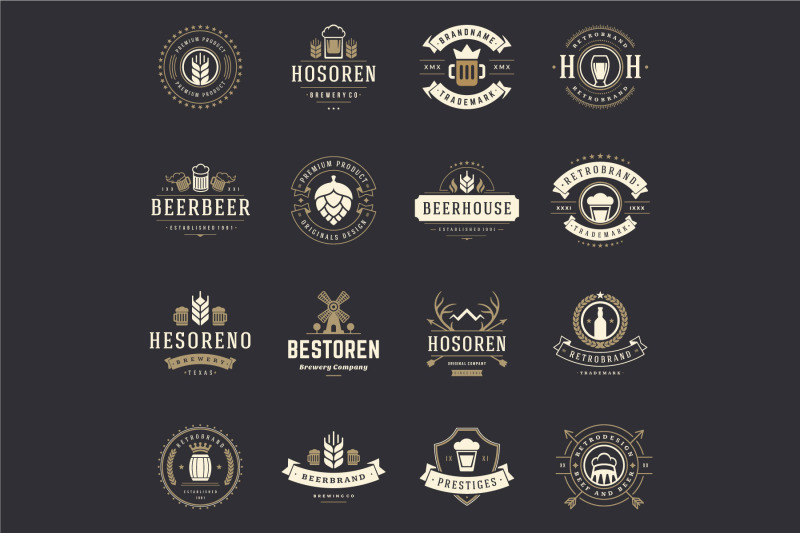 45-beer-logotypes-and-badges