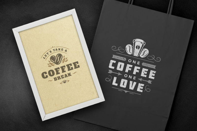 coffee-quotes-and-phrases-set