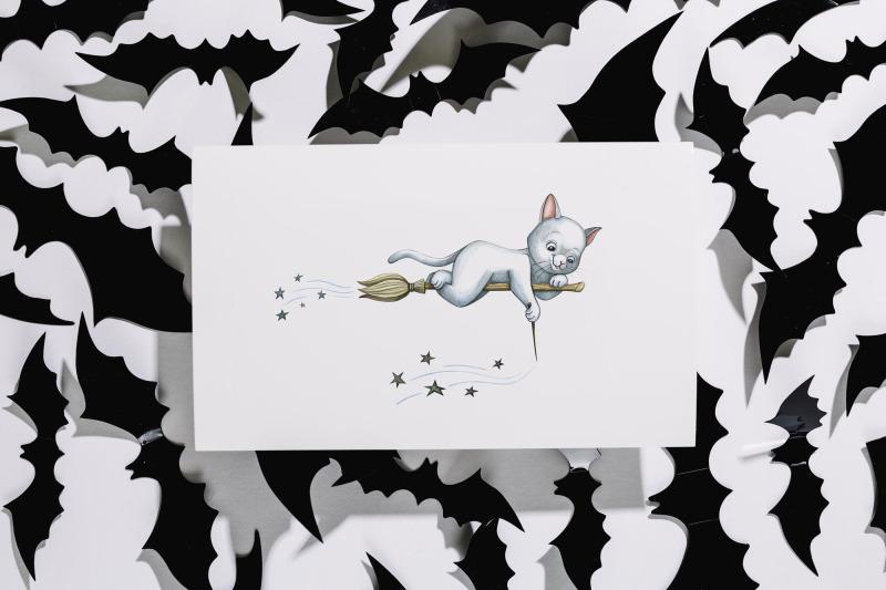 watercolor-halloween-set-illustrations-nbsp-12-exclusive-illustrations-cat