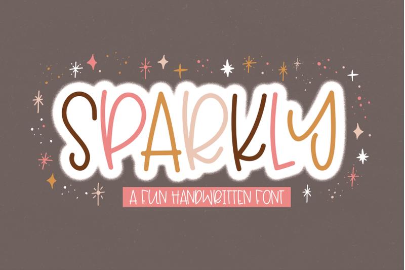 sparkly-fun-handwritten-font