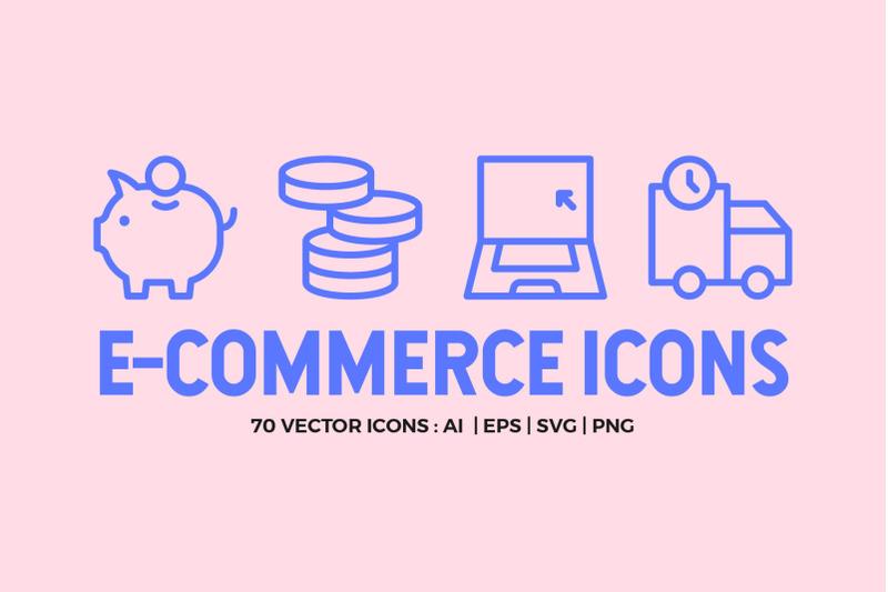 e-commerce-line-icons