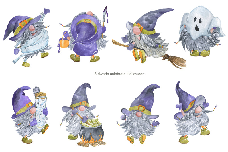 boo-gnomes-celebrate-halloween
