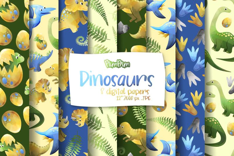 dinosaurs-digital-papers
