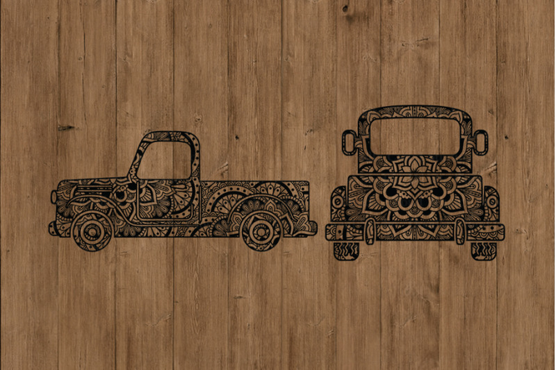mandala-truck-svg-truck-mandala-svg-cut-files-truck-zentangle-svg