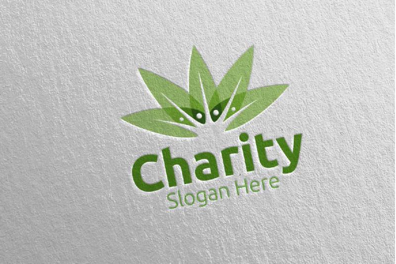 natural-charity-hand-love-logo-design-53