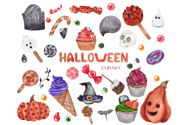 halloween-clipart-alphabet-and-illustration
