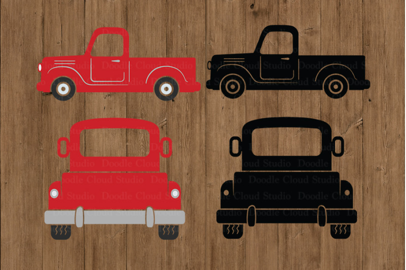 truck-svg-cut-files-pickup-truck-clipart-red-truck-svg