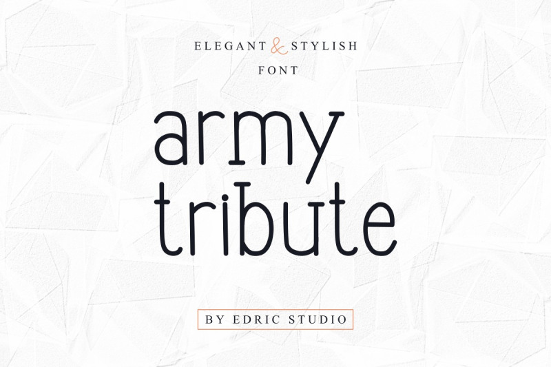 army-tribute