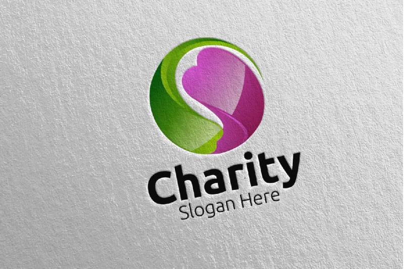 3d-charity-hand-love-logo-design-86