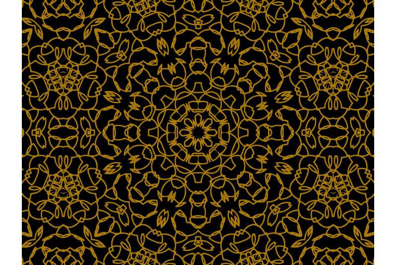 pattern-gold-line-ornament-circle