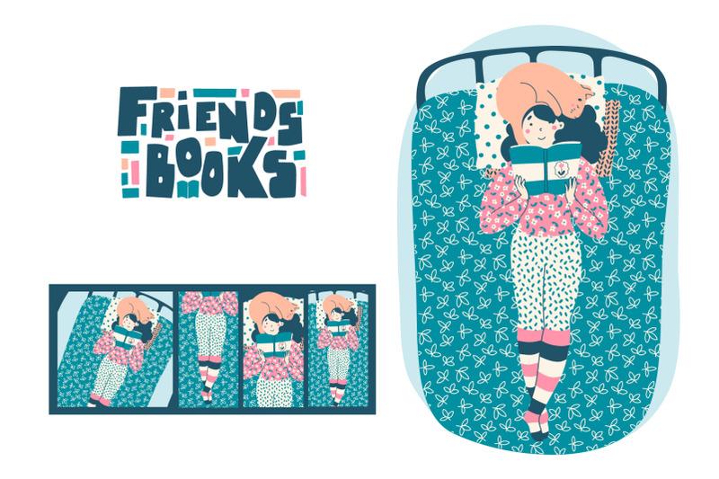 literature-fans-cute-illustration