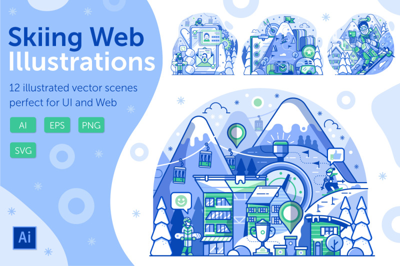 skiing-resort-web-illustrations