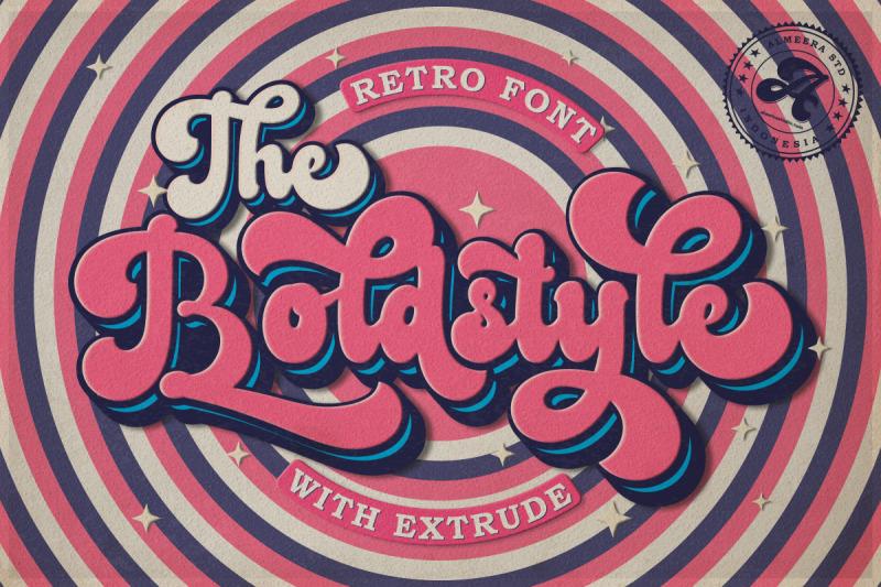 the-boldstyle-retro-script
