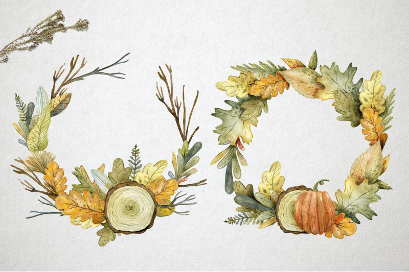 hello-autumn-watercolor-collection