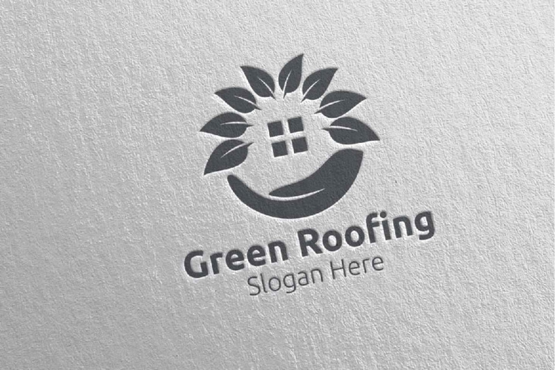 real-estate-green-roofing-logo-33