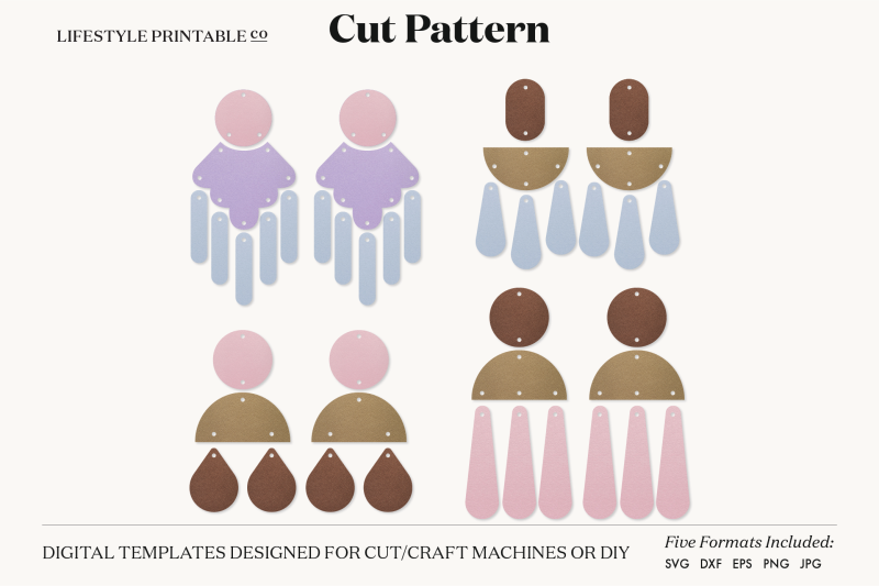 earrings-svg-template-cut-file-cricut-earrings-bundle-leather-earring