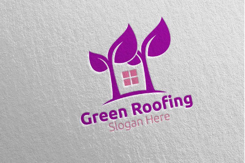 real-estate-green-roofing-logo-38