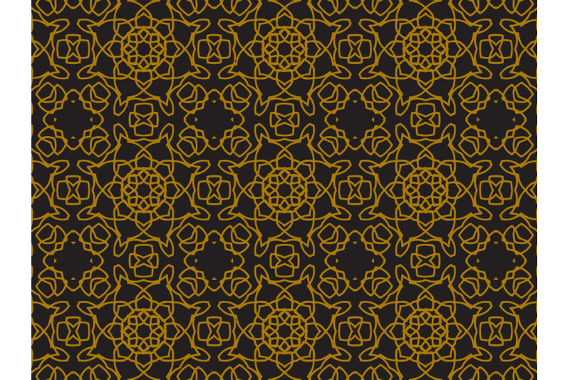 pattern-gold-line-ornament-circle