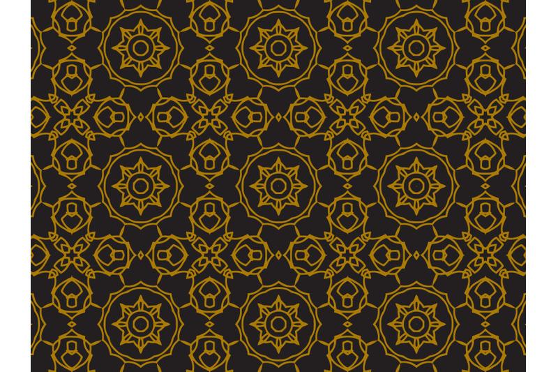 pattern-gold-line-circle