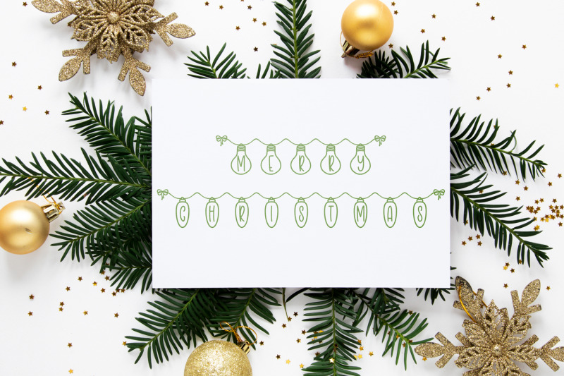 holiday-lights-a-christmas-font