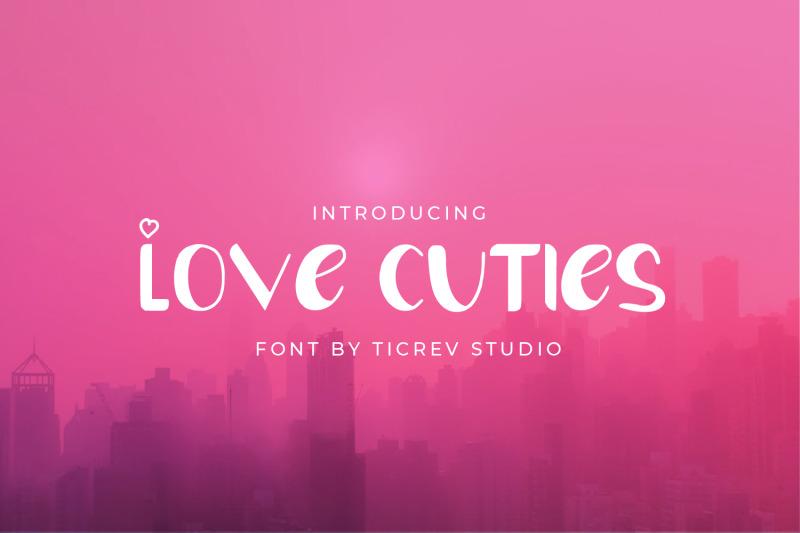 love-cuties-display-font