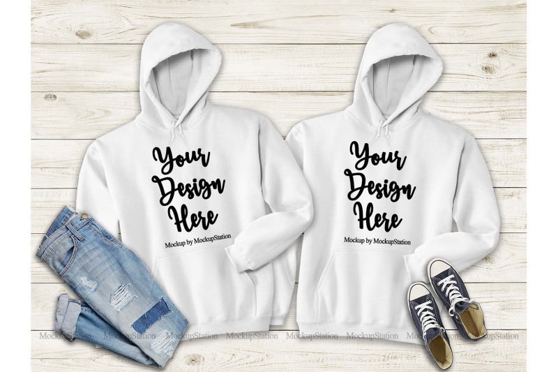 matching-white-hoodie-mock-up-gildan-18500
