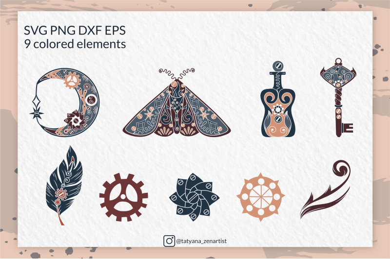 mystical-steampunk-symbol-steampunk-svg-bundle-vol-1