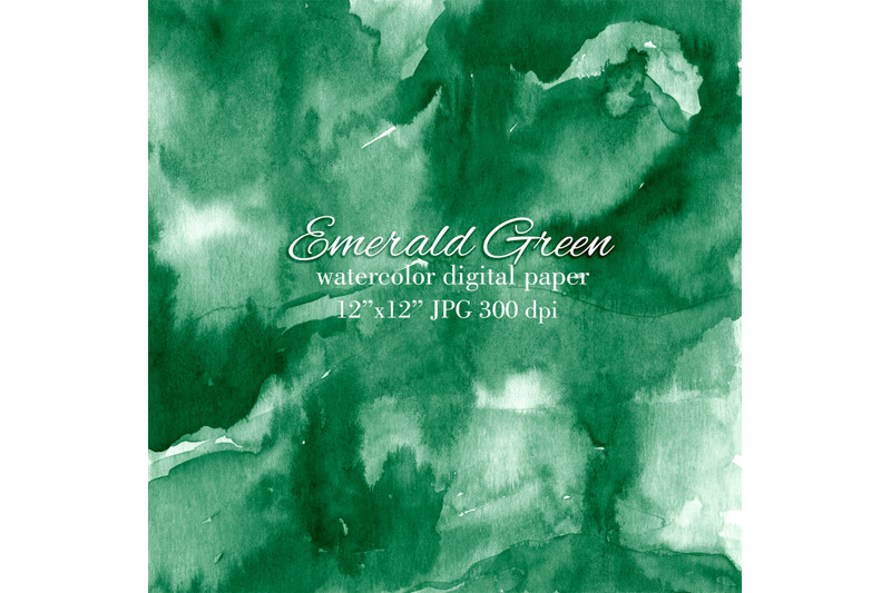 saturated-emerald-green-watercolor-texture-background