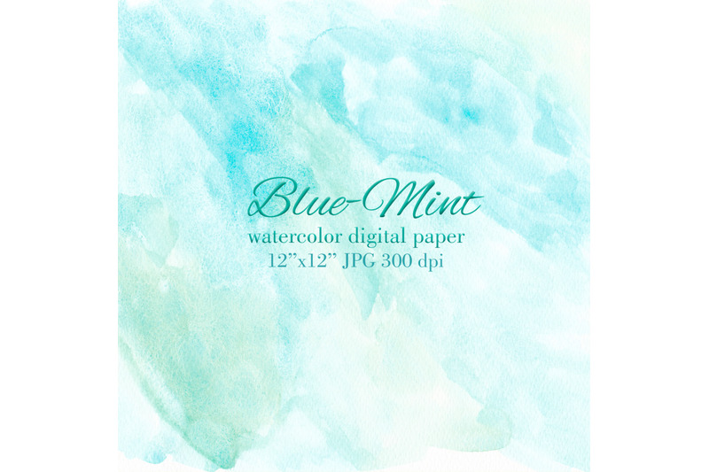 blue-mint-watercolor-texture-blue-turquoise-background