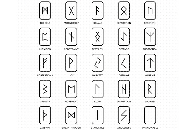 viking-runes-svg-talisman-png-dxf-clipart-eps-vector