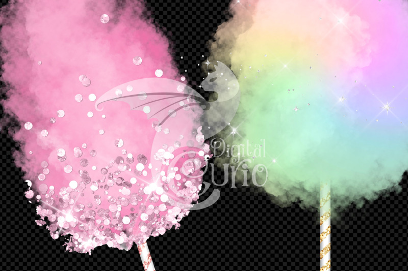 cotton-candy-clipart