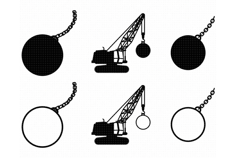 wrecking-ball-svg-png-dxf-clipart-eps-vector-cut-file