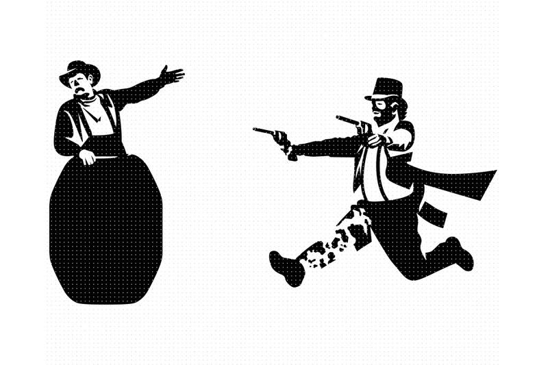 rodeo-clown-barrel-svg-cowboy-png-dxf-clipart-eps-vector