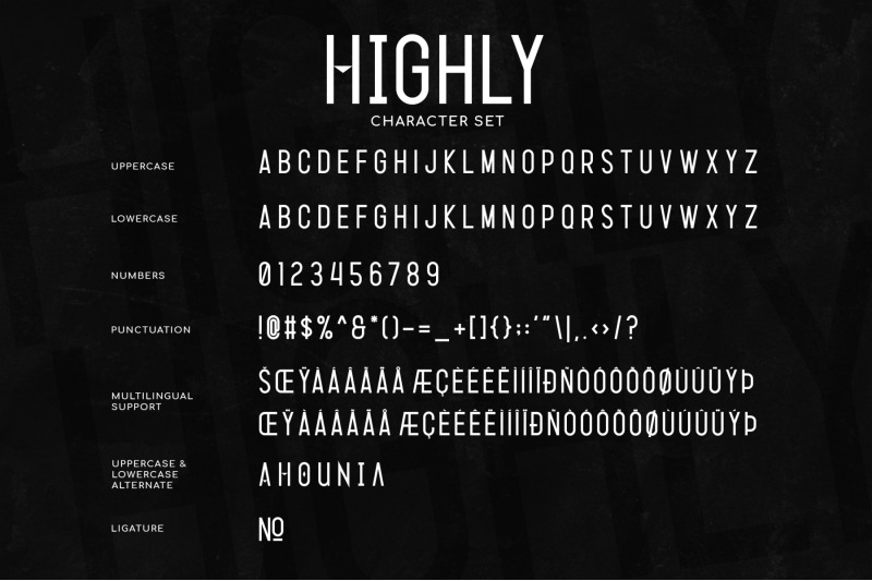 highly-condensed-sans-serif-font
