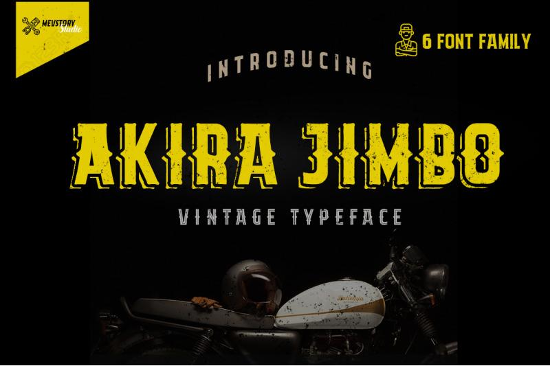 akira-jimbo-vintage-typeface
