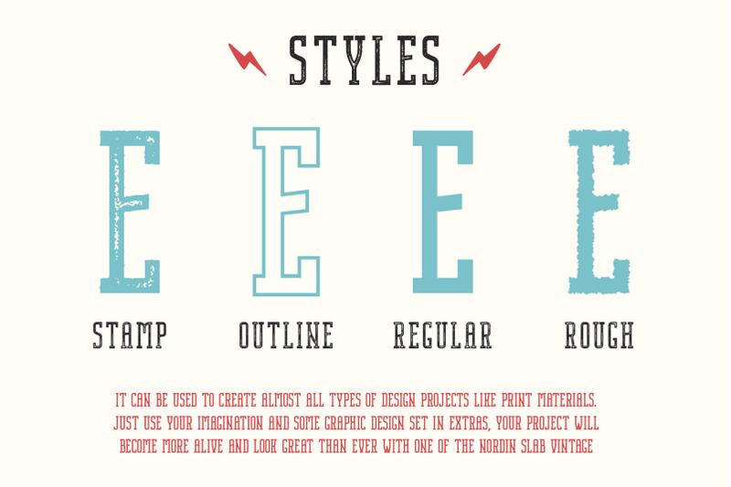 nordin-slab-vintage-font-family