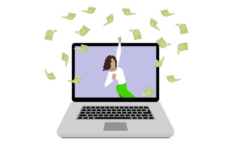 woman-enjoying-money-prize-happy-girl-win-in-online-lottery