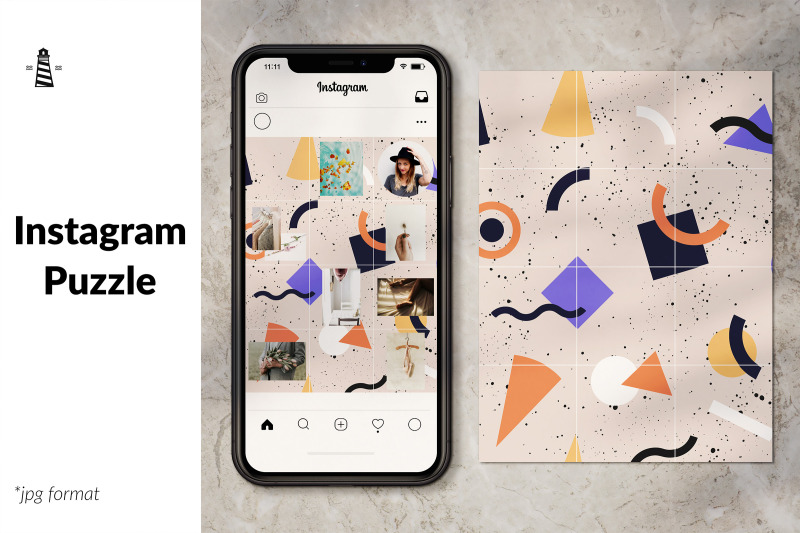 instagram-puzzle-feed-template