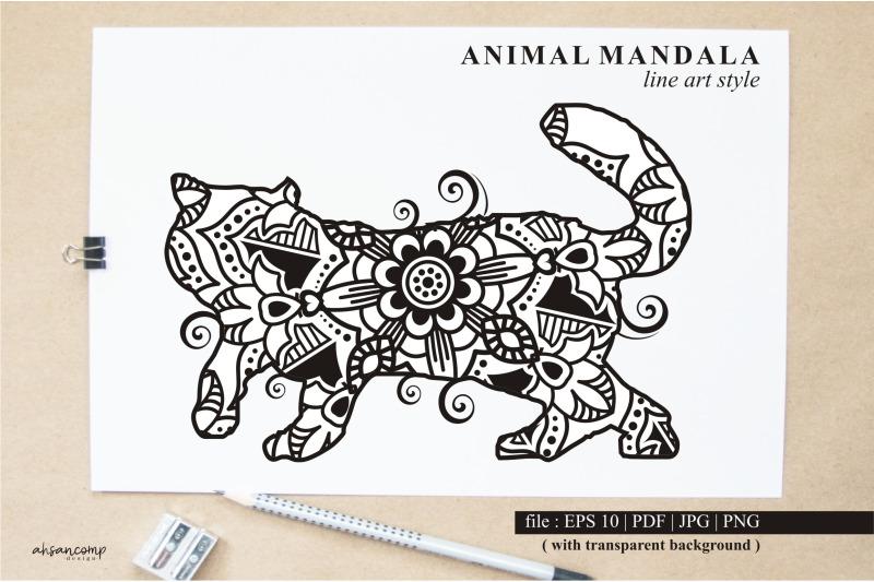 cat-mandala-vector-line-art-style