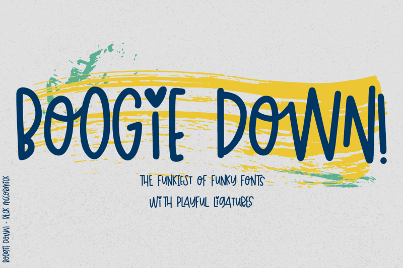 boogie-down-font