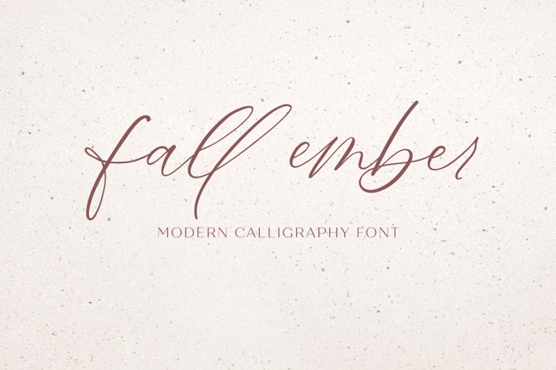 fall-ember-calligraphy-script