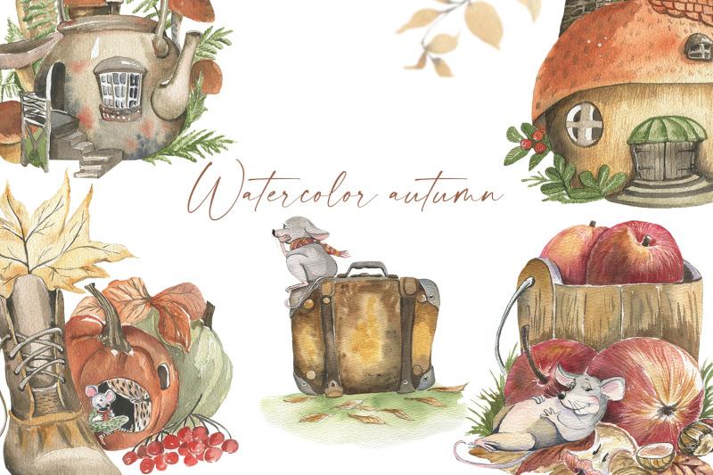 autumn-watercolor-cozy-season