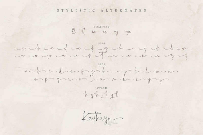 kaithryn-calligraphy-font