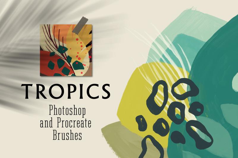 tropics-photoshop-amp-procreate-brushes