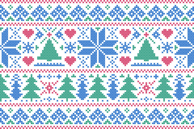 christmas-nordic-embroidery-style