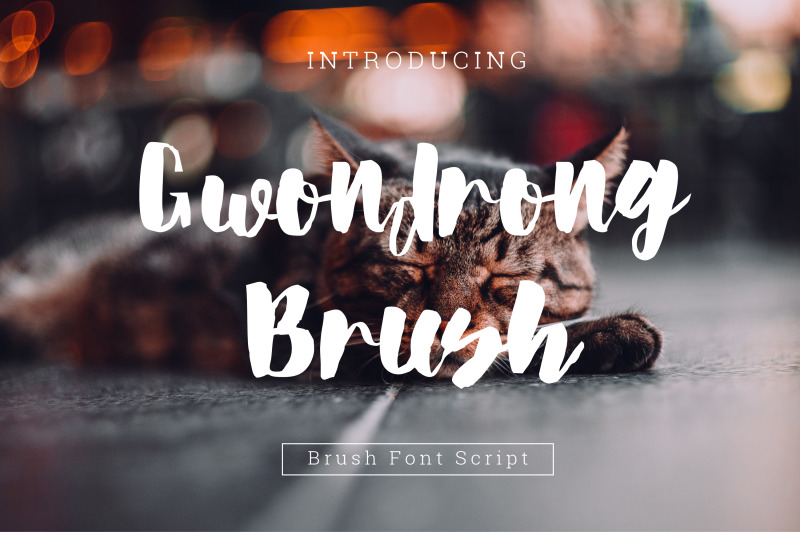 gwondrong-brush